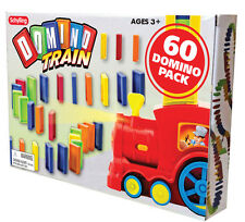 60 Toppling Domino REFILL Express Rally bulk Train track stack knock them down