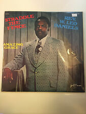 STRADDLE THE FENCE REV. W. LEO DANIES  (SERMON) LP Spoken Word Vinyl Record