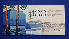 Finland (#706) 1985 Finnish Banknote Centenary MNH booklet