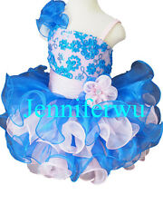 Infant/toddler/kids/baby/children Girl's Pageant/prom Dress size1-7 G135
