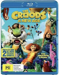The Croods A New Age Blu-Ray : NEW