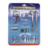 Outil De Compresseur Kit Accessoire Raccord Rapide Pneumatique Buse Purge D'air