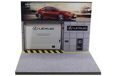 Diorama présentoir garage Lexus - 1/43ème - #43-2-A-A-092