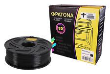 PATONA Premium Filament 3D Drucker Druck 1,75mm ABS Schwarz 1kg