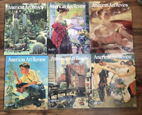 Lot of 6 2006 Issues American Art Review Magazines Feb April June August Oct Dec