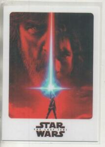Star Wars The Last Jedi DOUBLE-SIDED Promo Trading Card