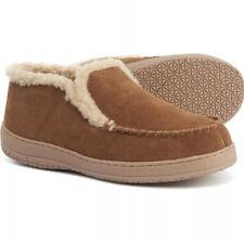 Clarks Original Suede Mid Moccasin Slippers Men's Size 9 Cinnamon