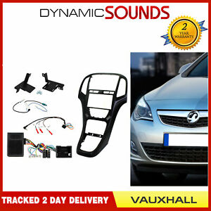 CTKVX42 Double Din Fascia & Reverse Sensor Aerial Fitting Kit For Vauxhall Astra