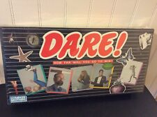 DARE! How Far Will You Go To Win?~Parker Brothers Vintage 1988~Factory Sealed!