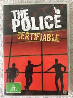 THE POLICE CERTIFIABLE LIVE IN BUENOS AIRES DVD MUSIC CD COLLECTABLE, FREE POST