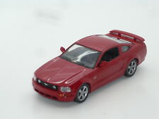 New 1:43 Ixo 2005 Ford Mustang 5.0 V8 redcoupe n Roush Shelby Mach1 GT350 GT500
