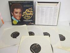 The Elvis Presley Story, A Limited Edition Collectors Treasury, 5 LP Vinyl Set