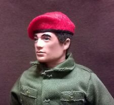Banjoman 1:6 Scale Custom Made Beret For Vintage Action Man / G I Joe  - Red