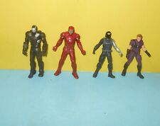 """Marvel Universe 2.75"""" Winter Soldier Avengers Loose Action Figure w/ Iron Man"""