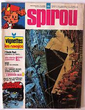 B)SPIROU N°1915 Avec les vignettes Navajos/ L'épervier Bleu