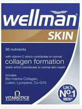 Vitabiotics Wellman Skin Technology Health & Vitality Skin Care - 60 Tabs