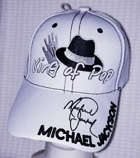 NWOT MICHAEL JACKSON KING OF POP STITCHED HAT VERY RARE COLLECT NOW!