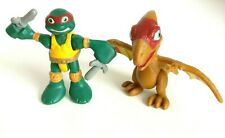 TMNT Teenage Mutant Ninja Turtles Half Shell Heroes Dino Raphael with Pteranodon