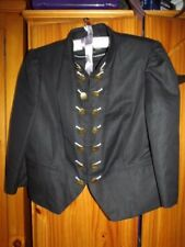 Next Black Tailored Ladies Cotton Lined Linen Mix Casual Jacket 20 RRP: £50