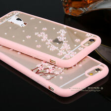 Shockproof Hybrid Soft Rubber Clear Hard Back Case Cover for iPhone 6 6s 7 Plus