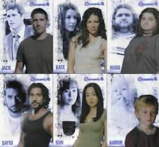 Lost Seasons 1-5 The Oceanic Six Chase Card Set 6 Cards