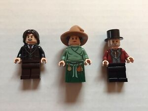 LEGO Harry Potter Mr. Borgin, Witch and Wizard Minifigure Lot