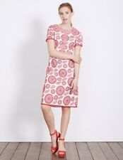 Boden Mila Broderie Dress Red Size UK 8R LF171 DD 05