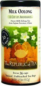Milk Oolong Tea by The Republic of Tea, 36 tea bags