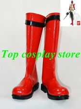 Shinken Red Shinkenger Shinkenger Red Ranger Power Rangers cosplay shoes boots