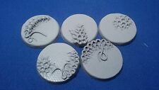 Warhammer 40k Elrik's Hobbies Alien Diamond Plate 40mm bases