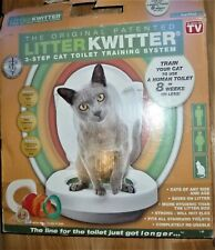Complete Litter Kwitter Cat Toilet Training System with Dvd