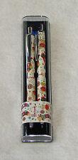 HARRODS Christmas Bear Pen Pencil Set Stocking Ornament Design Set London
