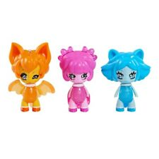 Glimmies 3-Pack Collector Figures - Lavoonia, Cerulea and Spinosita