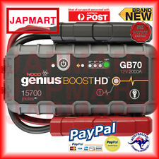 NOCO Genius Boost HD GB70 2000 Amp 12V UltraSafe Lithium Jump Starter *BRAND NEW