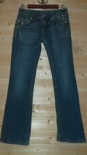 """LADIES MISS ME BOOT JEANS SIZE 28 FLAP POCKETS CORRECTED LENGTH!!!  INSEAM 29,5"""""""