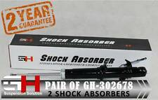 2 NEW FRONT OIL SHOCK ABSORBERS FOR HONDA ACCORD COUPE ESTATE ///GH-302678///