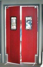 """48"""" x 84"""" Restaurant Kitchen Swing Door and Supermarket Swinging Doors New."""