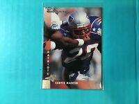 CURTIS MARTIN 1997 DONRUSS FOOTBALL CARD #7  PATRIOTS