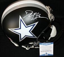 Deion Sander signed Full Size Helmet, Dallas Cowboys, 49ers, Beckett BAS
