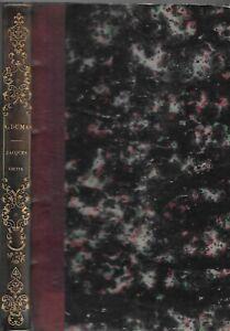 ALEXANDRE DUMAS. JACQUES ORTIS. Dumont 1839 édition originale