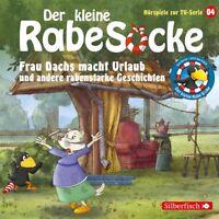 DER KLEINE RABE SOCKE-04: FRAU DACHS MACHT URLAUB (HÖRSPIEL ZUR SERIE)  CD NEU