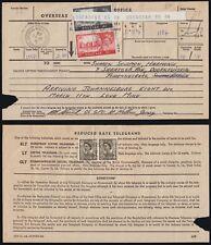 SG759/ 760 1969 2/6d. & 5/- on Telegram form from Jersey. E2578
