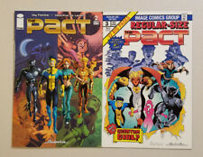 The Pact Vol 2 Lot of 2 Comics #2 & 3 (Robert Kirkman Phil Hester Image 2005)