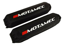 "Motamec Spring Cover Coilover Protector Shock Bag BLACK 16"" / 406mm Long - Pair"