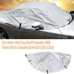 Half Car Cover Top for Mazda MX-5 MK1 MK2 MK2.5 Waterproof Dustproof Outdoor