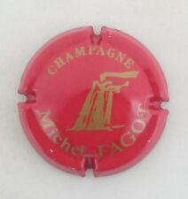 capsule champagne FAGOT michel n°6 rouge et or