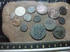 PIRATE COB COIN  and Colonial  x 14 hammered / milled ancient