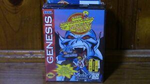 Adventures of Mighty Max Sega Genesis Video Game & Bonus VHS Tape New Sealed