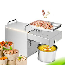 Commercial & Home Use Automatic Stainless Steel Oil Press Machine Oil Expeller