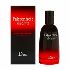 DIOR Fahrenheit Absolute EDT Intense Spray 100ml/3.4 oz Sealed Perfect Condition